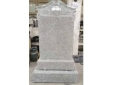Light Grey G603 Headstone With