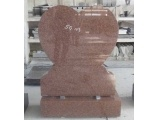 Heart Design India Red Headstone