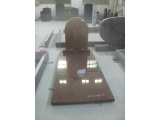 Semi Circle Form Granite Tombstone