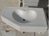 Greece Crystal Pure White Bathroom