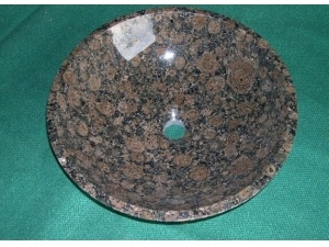 Baltic Brown Marble Round Shape